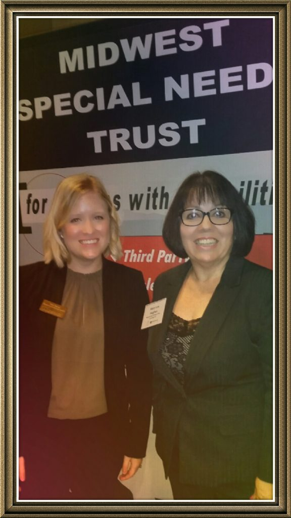 Mary Lou with Sarah Weber Iowa State Bar Council Bluffs